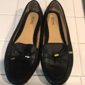 Michael Kors leather loafers size 9